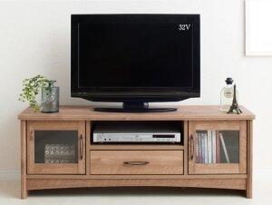 オーク調テレビボード