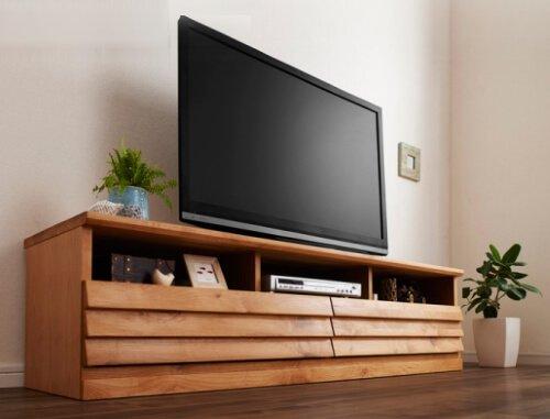 アルダー無垢材テレビボード