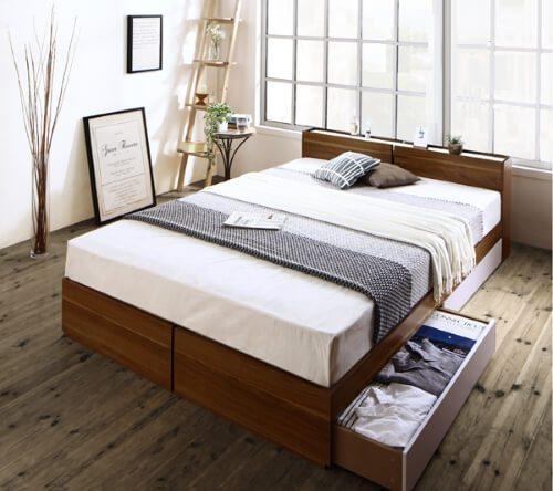 デザインベッド【Equinox】イクイノックス