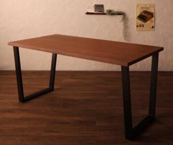 ダイニングテーブル台形・口形脚