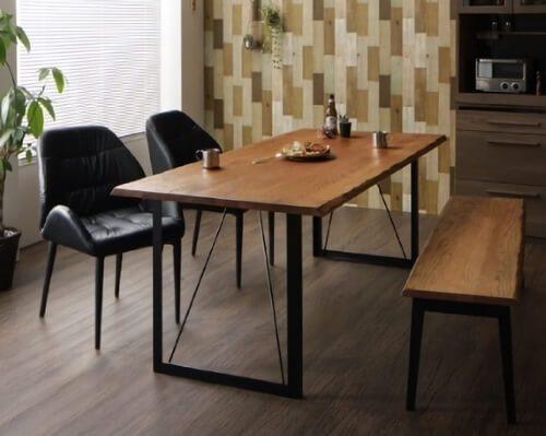ヴィンテージデザインダイニングテーブルセットPittsburghピッツバーグ