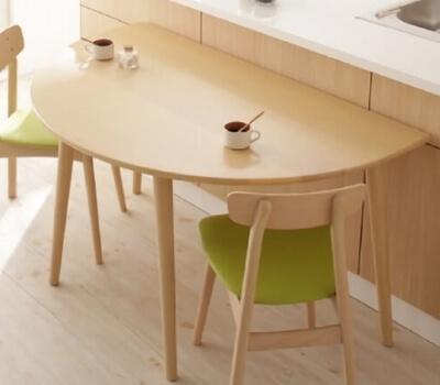 ダイニングテーブル半円形