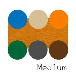 ミディアムブラウンのフローリングとおすすめのラグの色
