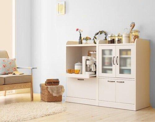 食器棚amitieアミティエ ホワイト