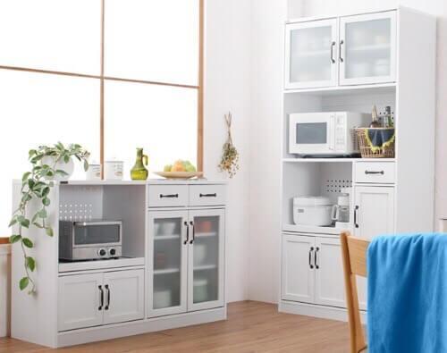 キッチン収納シリーズ【Anne】アンネ ホワイト