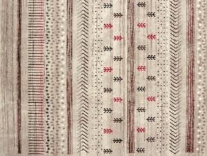 トルコ製ウィルトン織りラグ【Maria】マリア ベージュ