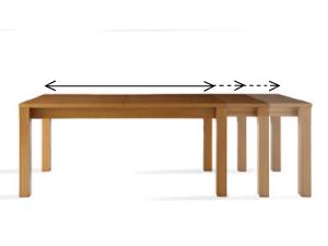 ダイニングテーブル伸縮タイプ