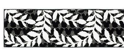 キッチンマットMICKEY/Laurelブラック45×180cm