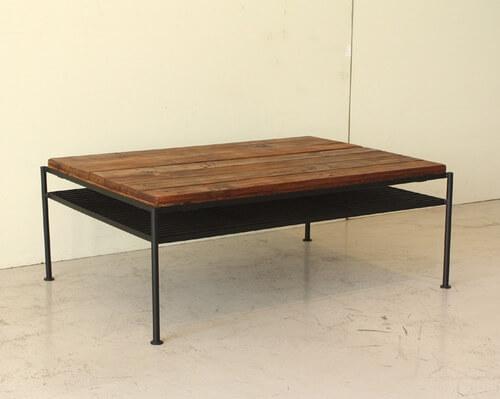 リビングテーブル ケルト ブラウン