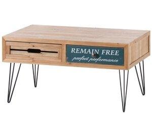 ロゴ入りセンターテーブル