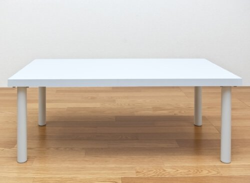 フリーローテーブル90cm ホワイト