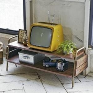 古材風テレビ台