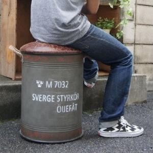 ドラム缶チェアー