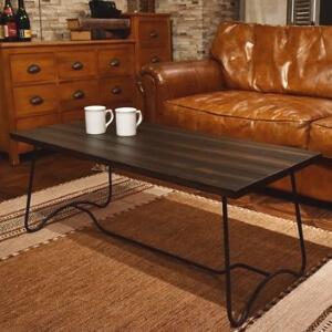 コーヒーテーブル ディープブラウン