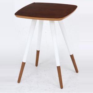 突板サイドテーブル