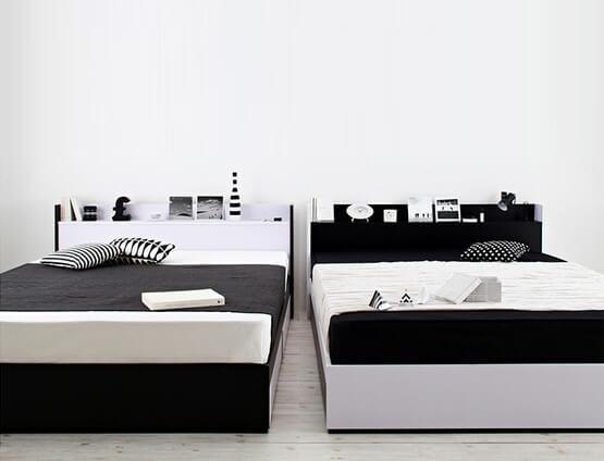 モノトーンベッド【MONO-BED】モノ・ベッド