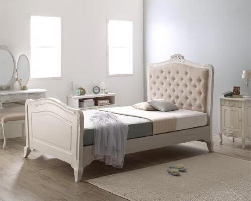 フレンチエレガント猫足ベッド