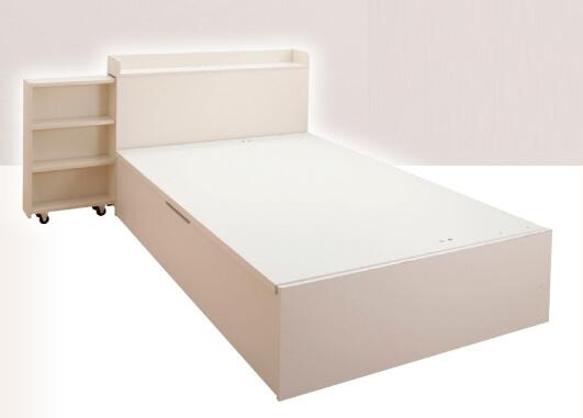 本棚付きベッド