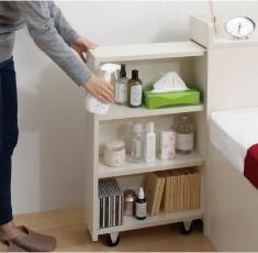 本棚付きベッドの本棚の利用方法その1