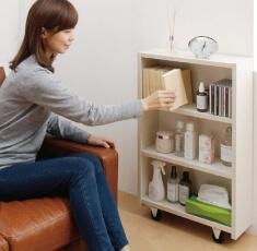 本棚付きベッドの本棚の利用方法その2