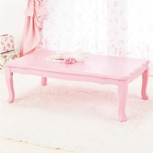プリンセス猫足テーブル ピンク