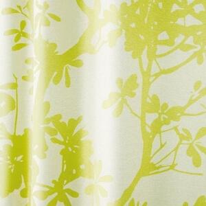遮光カーテン『ツリー』グリーン