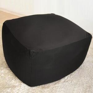 キューブ型 メガビーズクッション ブラック