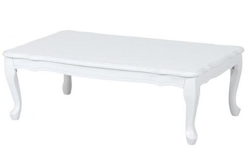 猫足ホワイトテーブル