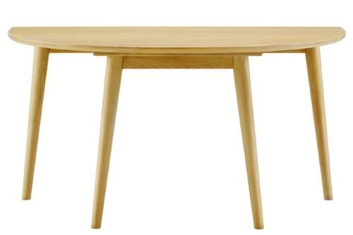 半円ダイニングテーブル