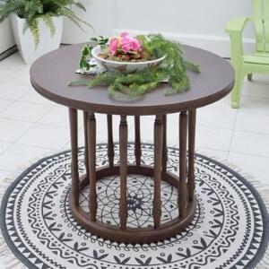 天然木ラウンドテーブル