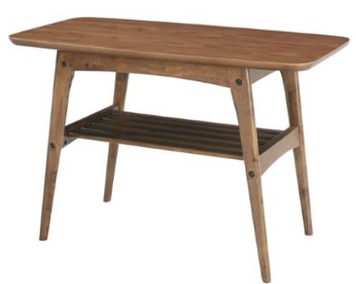 天然木コーヒーテーブル