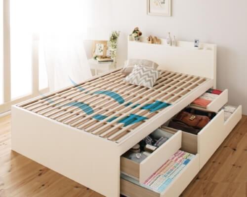 収納付きすのこベッドSalvatoサルバト