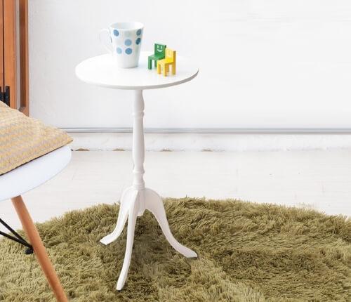 ホワイトサイドテーブル
