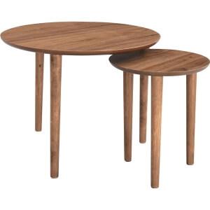 天然木ネストテーブル
