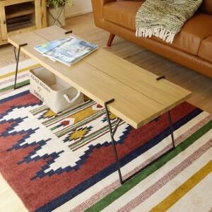 天然木ローテーブル