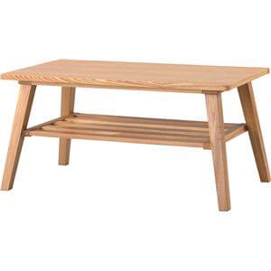 木製ナチュラルローテーブル