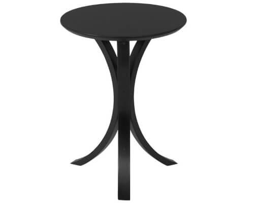 北欧ブラックサイドテーブル