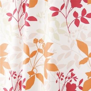 デザインカーテン『フローラ』ピンク