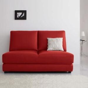 赤いソファーベッドCleoburyクレバリー