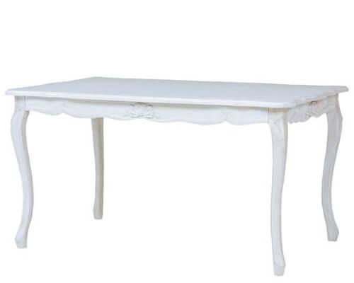 フレンチリボンダイニングテーブル