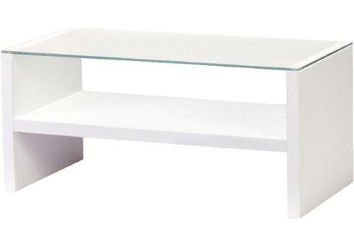 ホワイトリビングテーブル