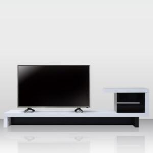 モノトーンテレビボードZIGZAG