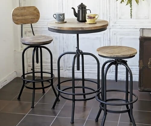 円形バーテーブル