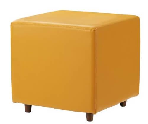 オレンジブロックソファ