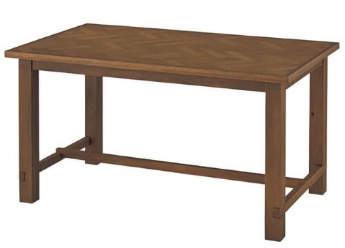 ダイニングテーブル ブラウン150cm
